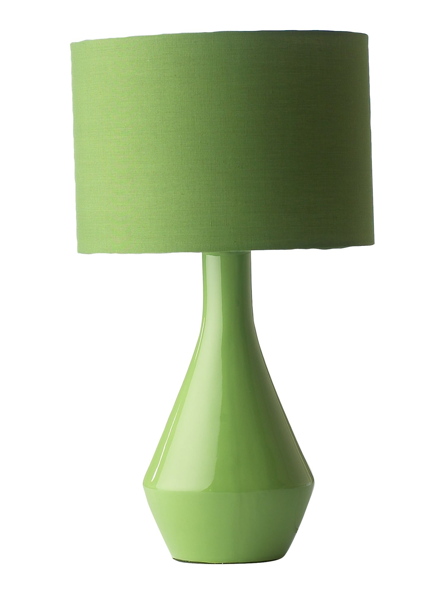 Lola green table lamp