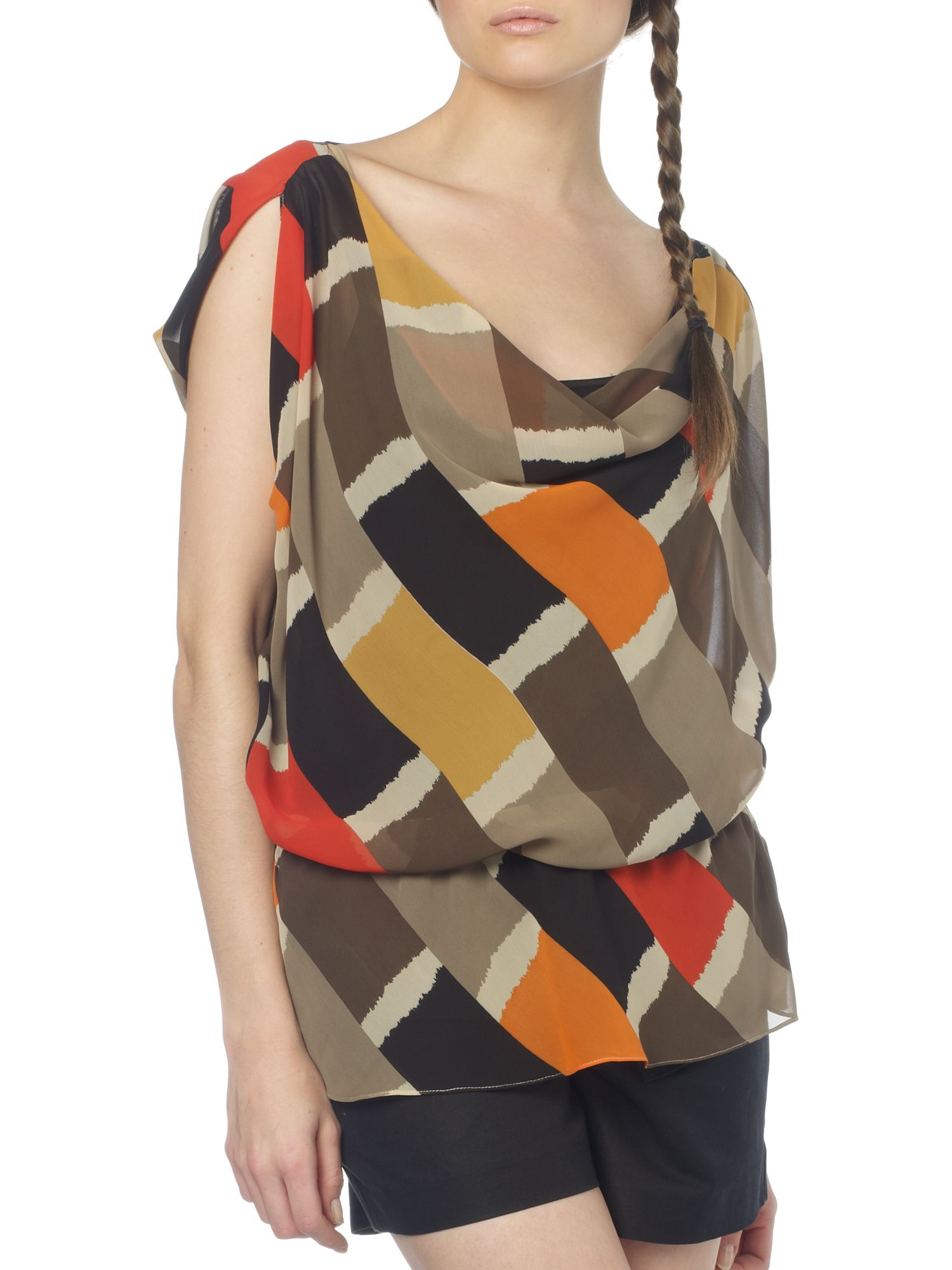 Kenneth Cole Geometric print blouse product image