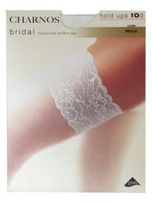 Charnos Bridal lace top hold up