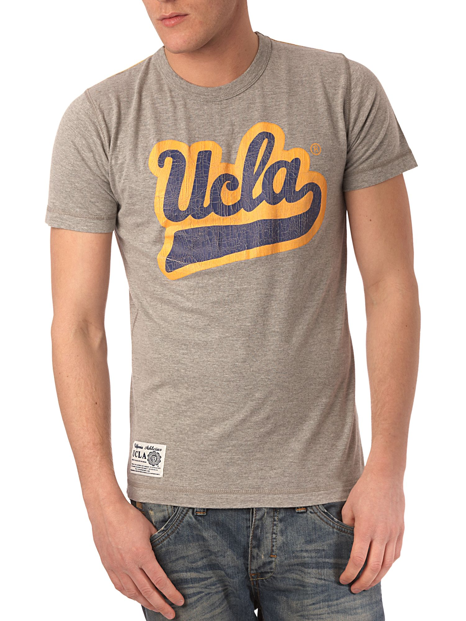 UCLA Vintage script printed T-shirt product image