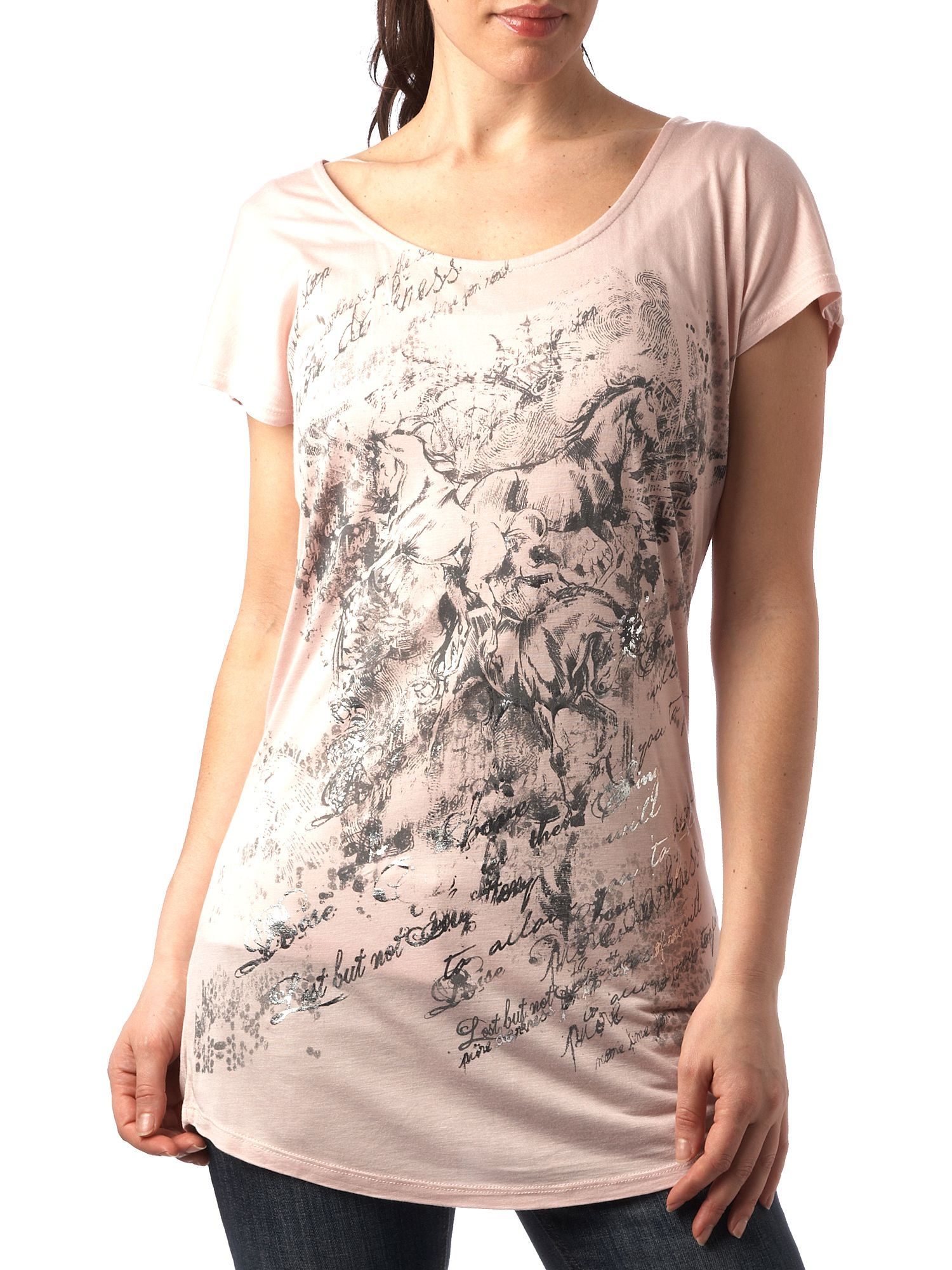 Therapy Horse print t-shirt Nude product image