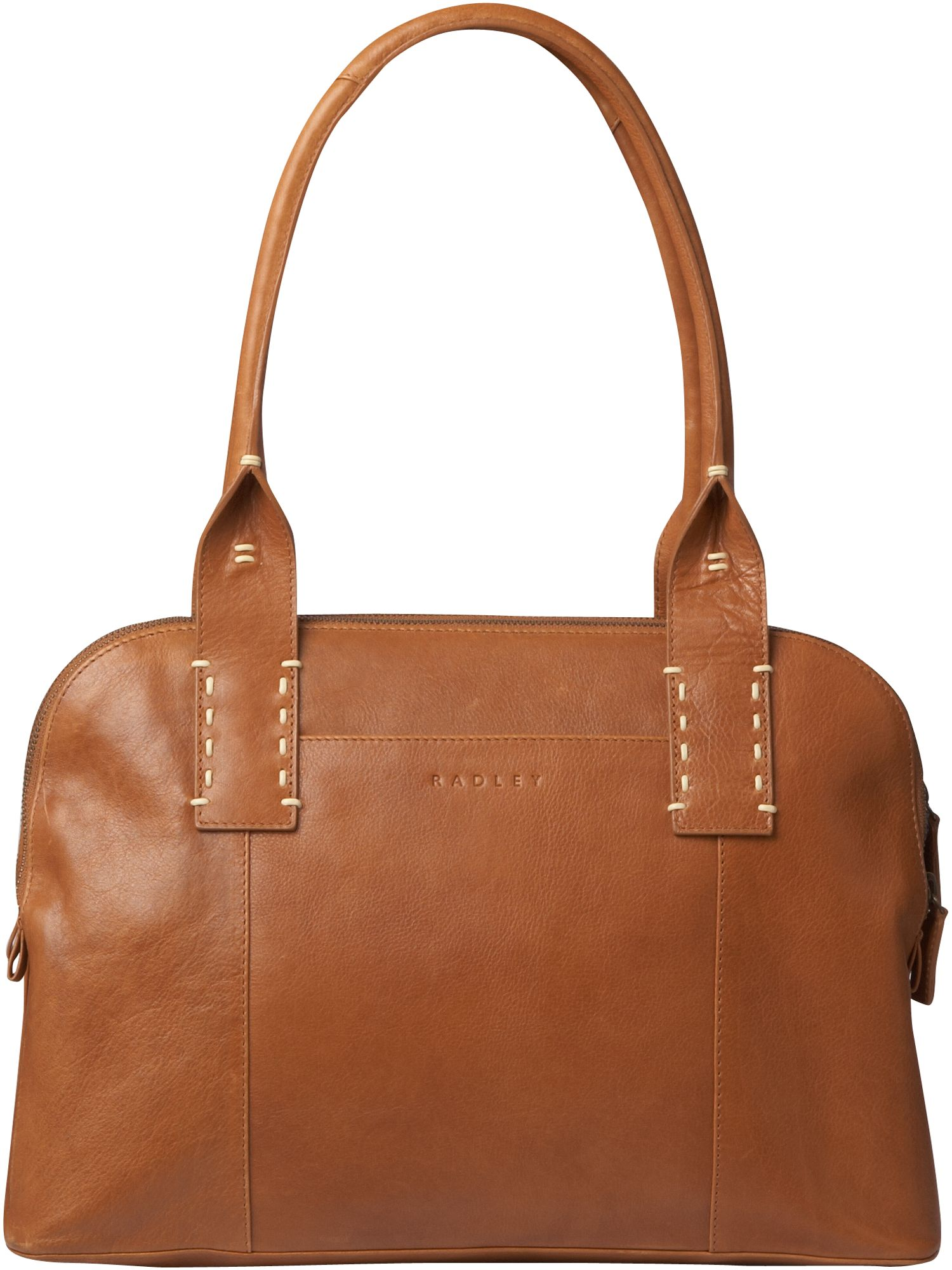 Tewkesbury Large leather dome bag.