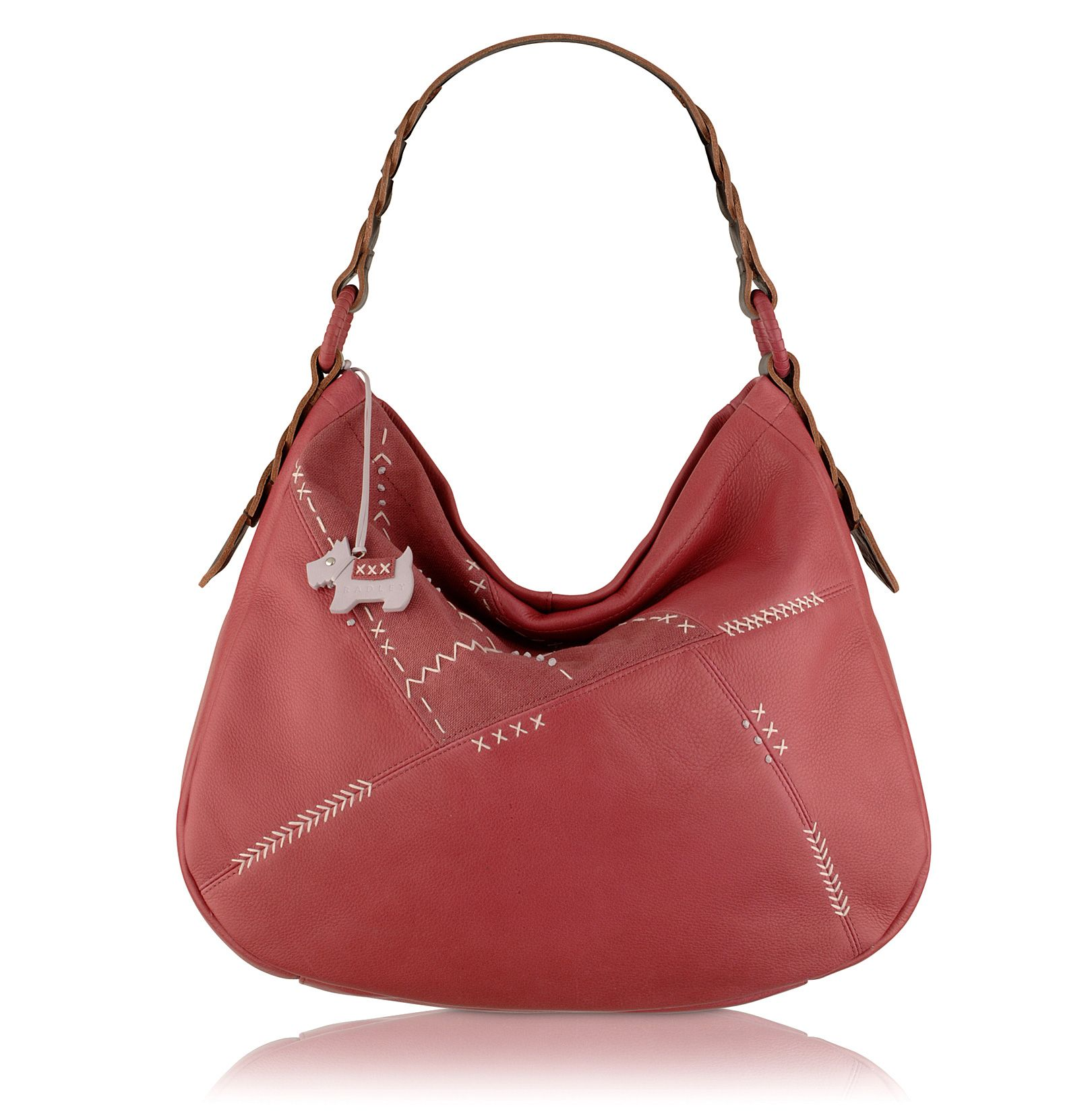 Trowbridge leather hobo bag.