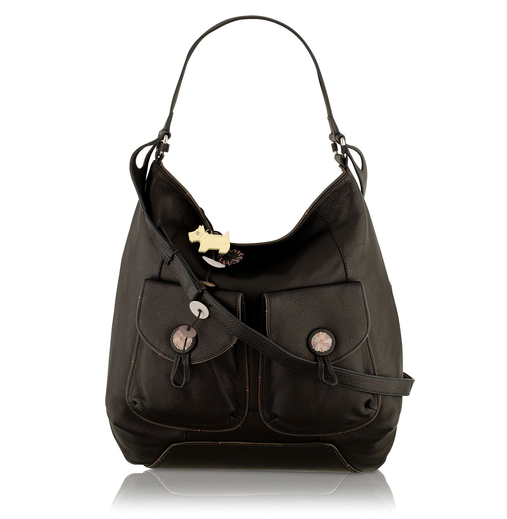 Sherbourne Extra Large leather hobo bag.
