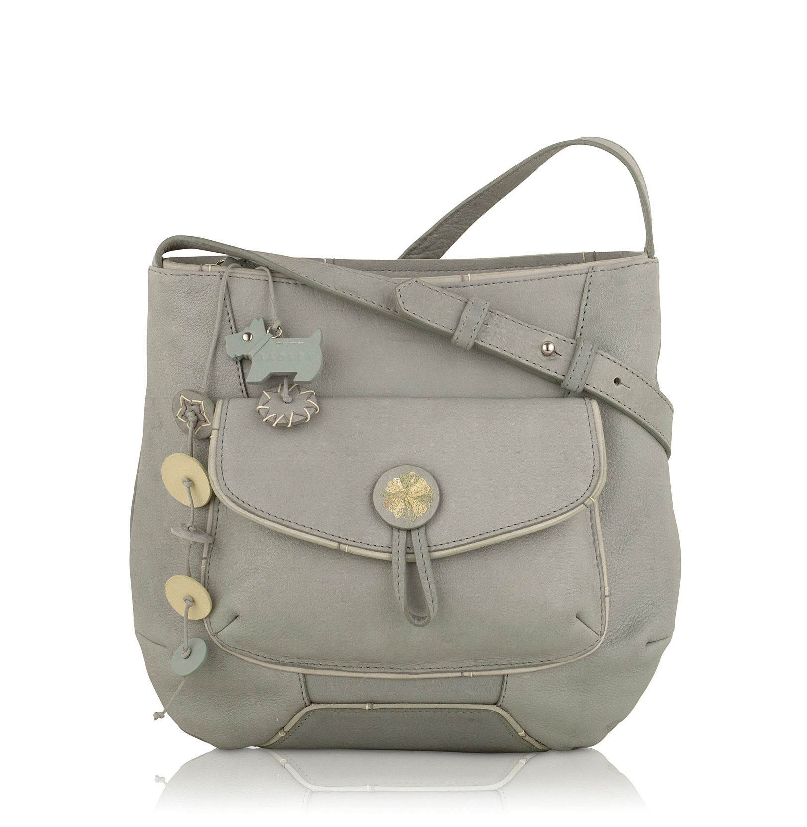 Sherborne leather cross body bag.