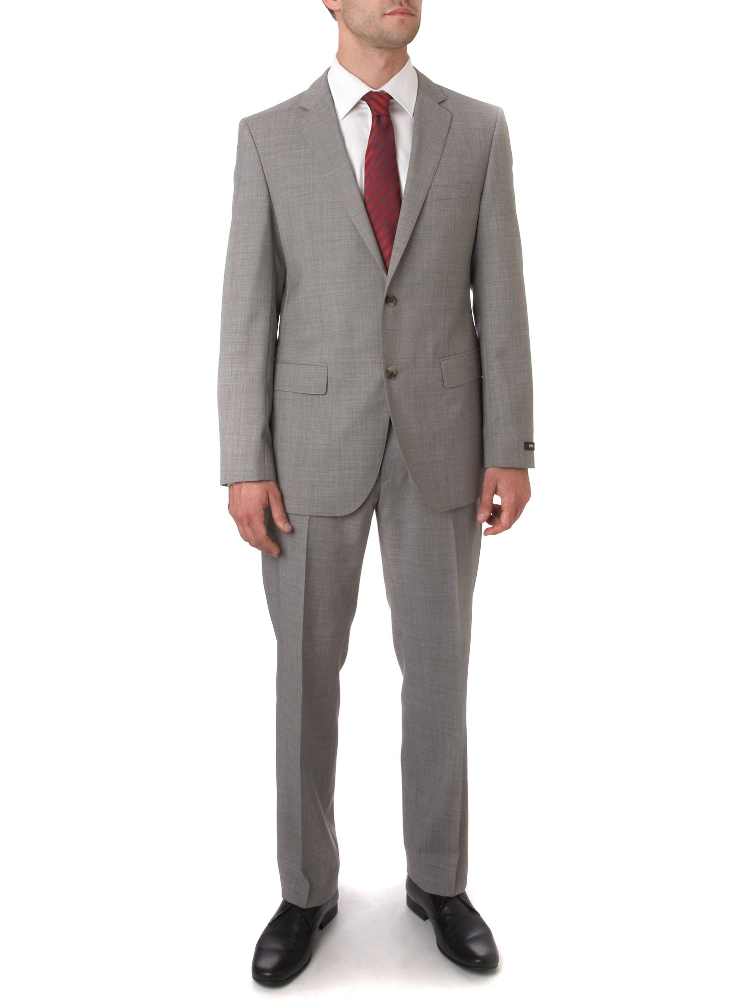 Hugo Boss GREY WOOL SUIT Grey