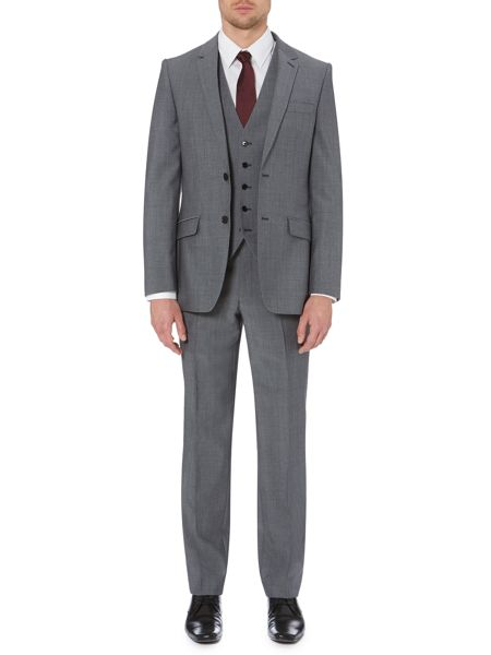 Kenneth Cole Wool mohair suit waistcoat
