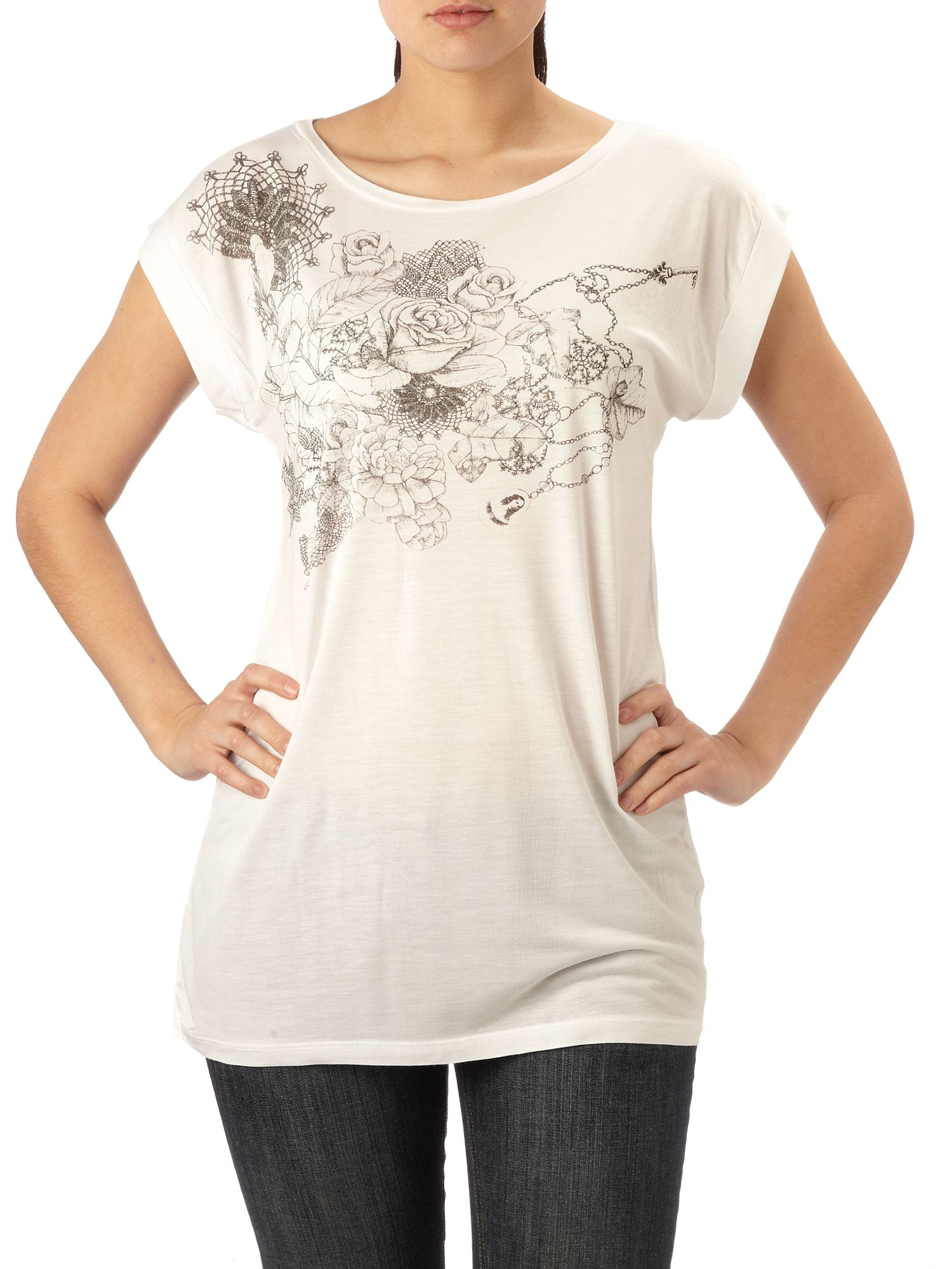 Therapy Nature collage t-shirt White product image