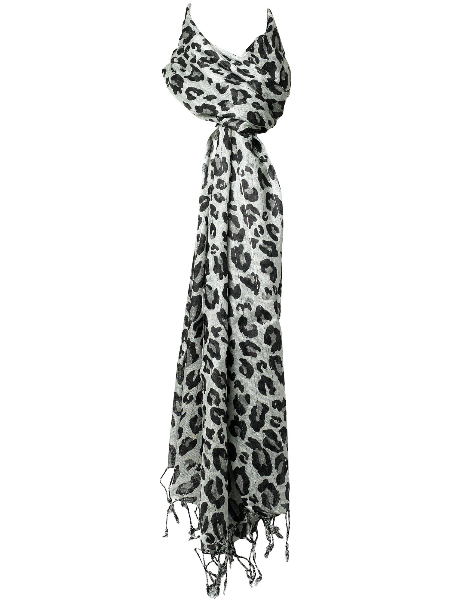 GI Jane animal print oblong scarf