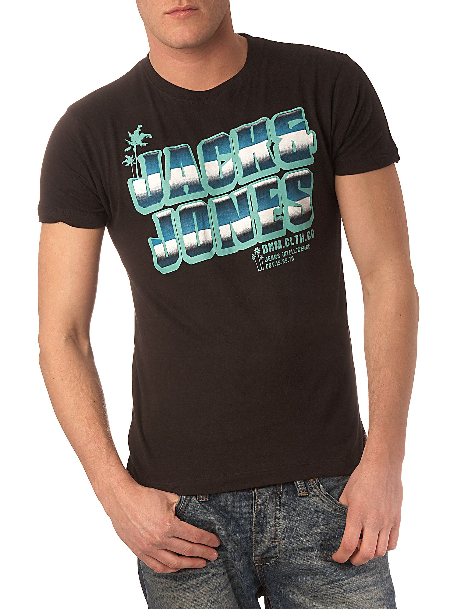 Jack & Jones Logo front T-shirt Black product image