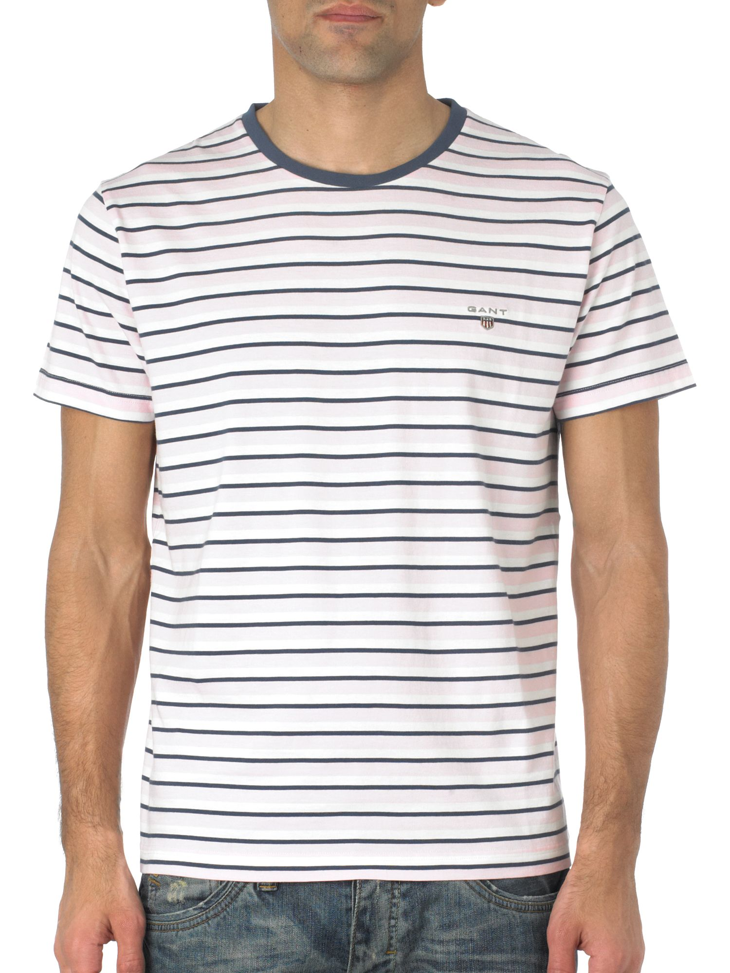 Gant Breton striped crew neck T-shirt Blue product image