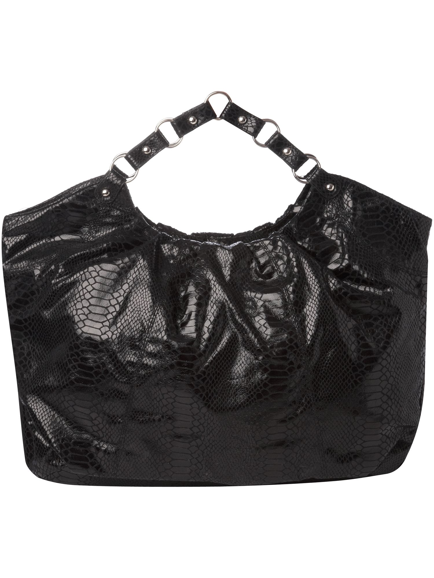 Therapy GI Jane faux snake slouch chain handle bag product image