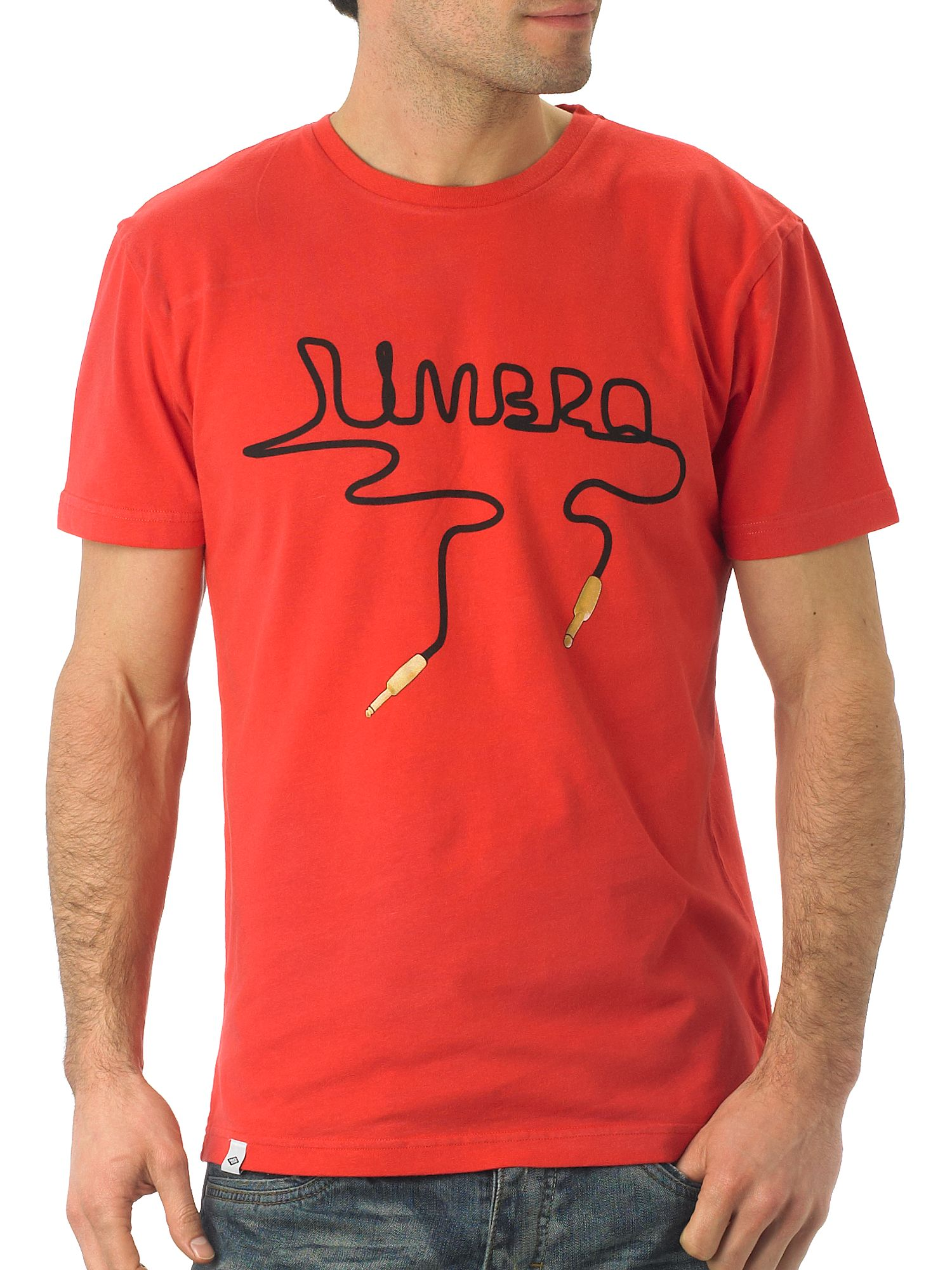 Umbro Guitar Cable Tee Red product image