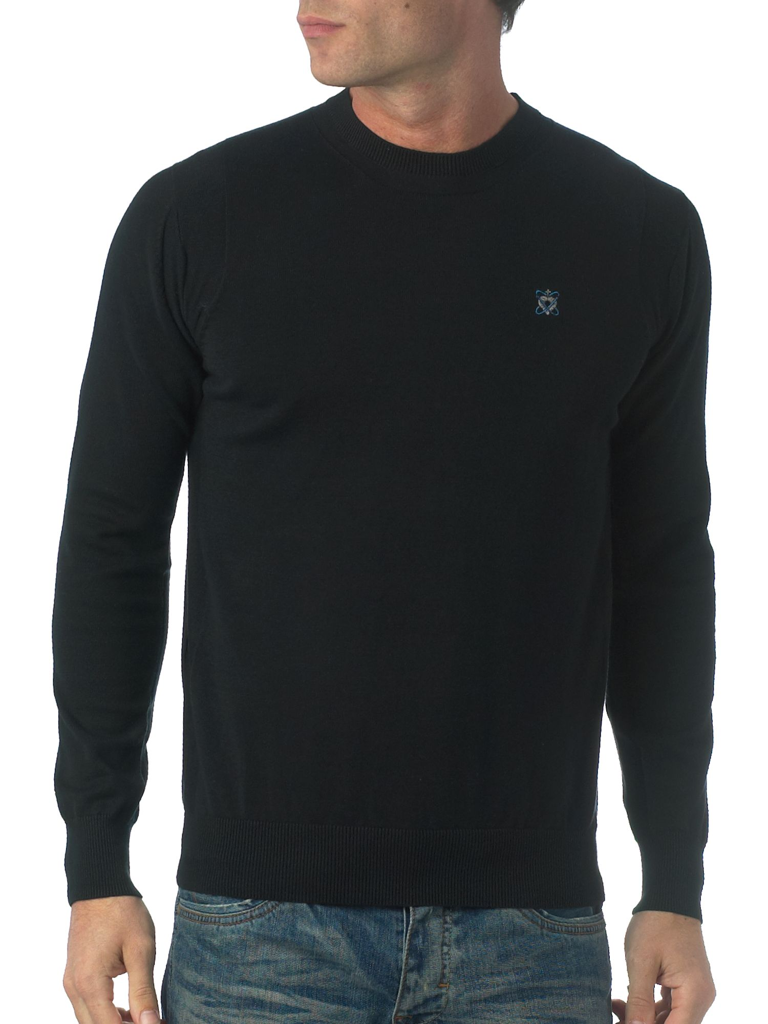 Full Circle Crew neck plain knit