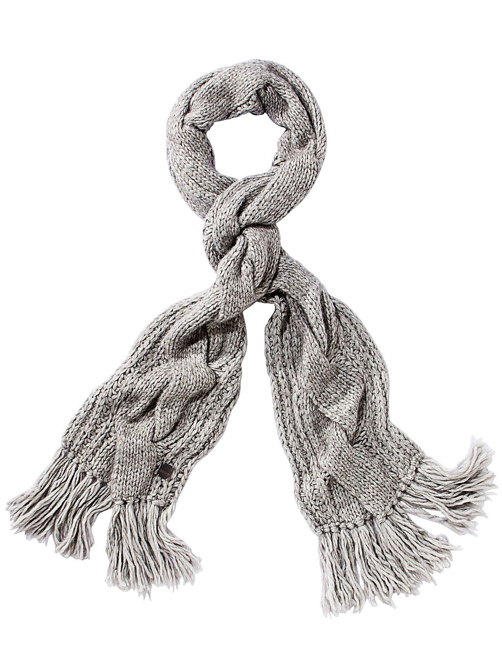 Wide-braided scarves