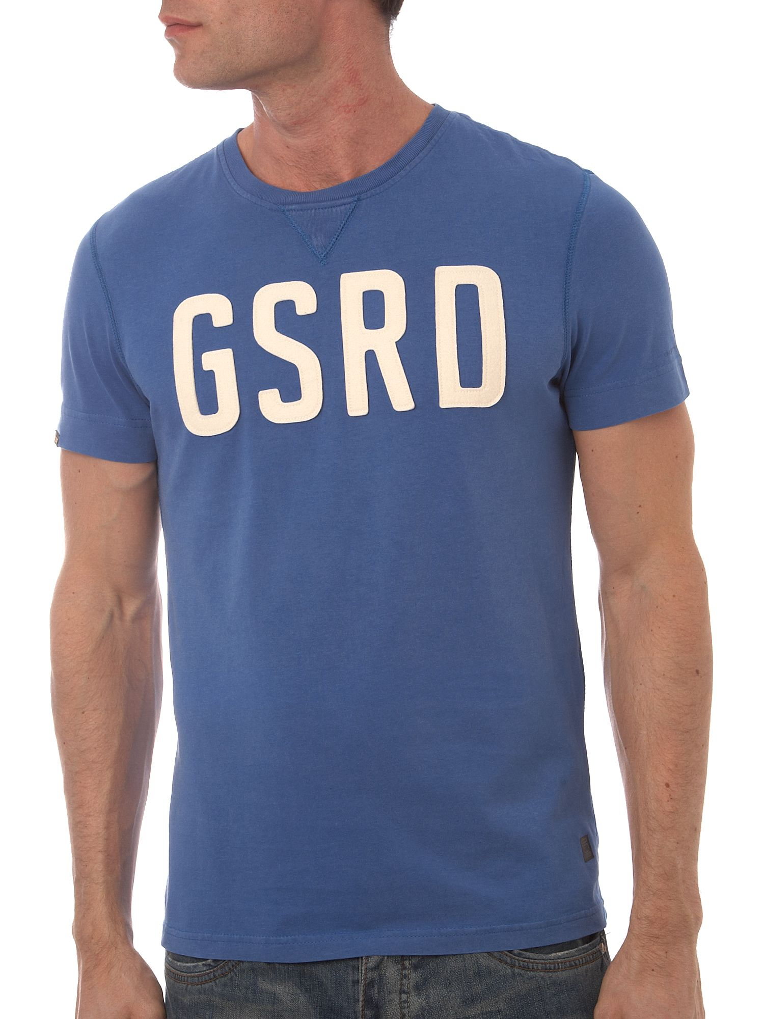 G-Star G.S raw washed t-shirt Blue product image