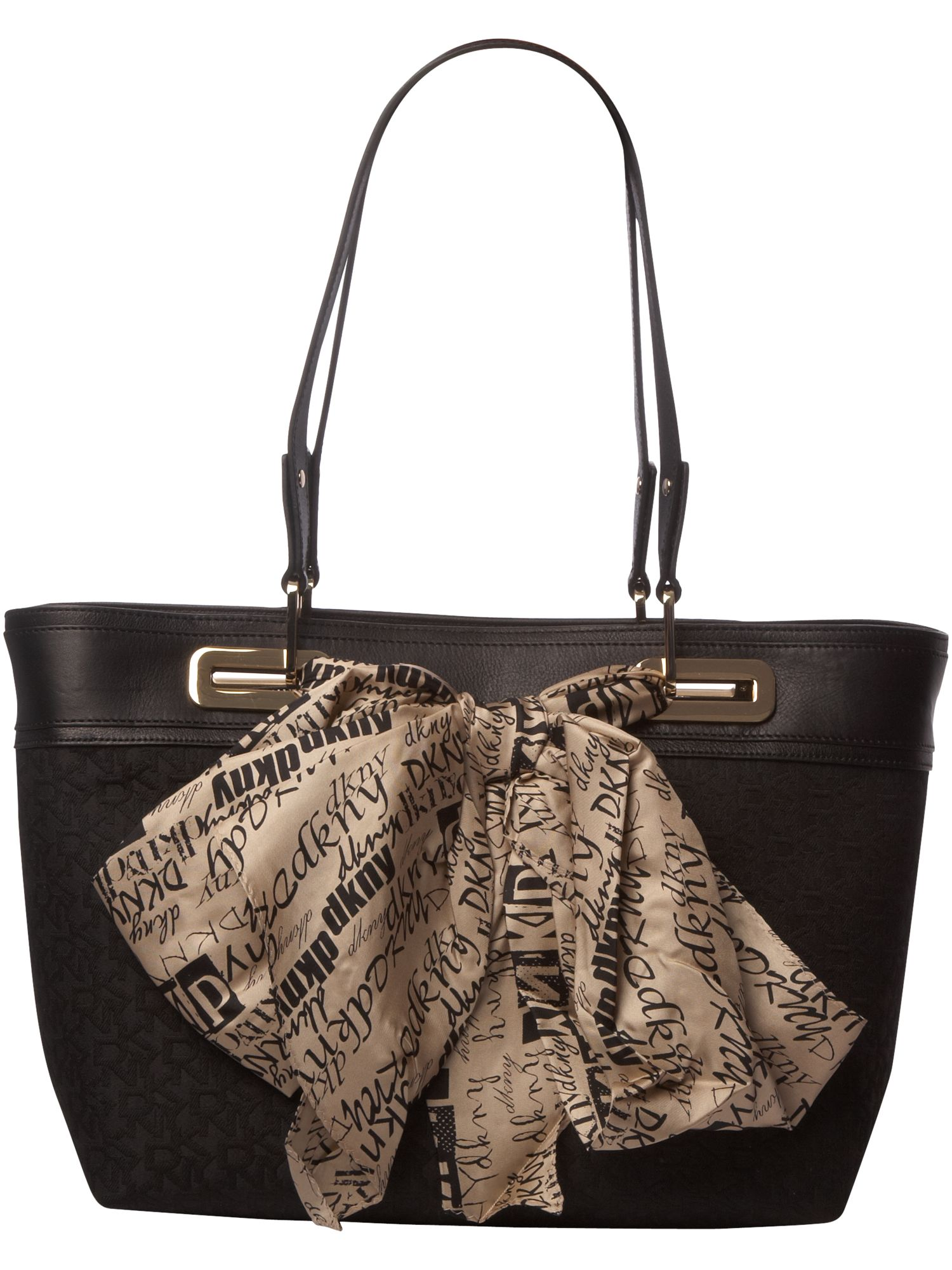 DKNY Scarf Bag Town and Country large nylon tote product image