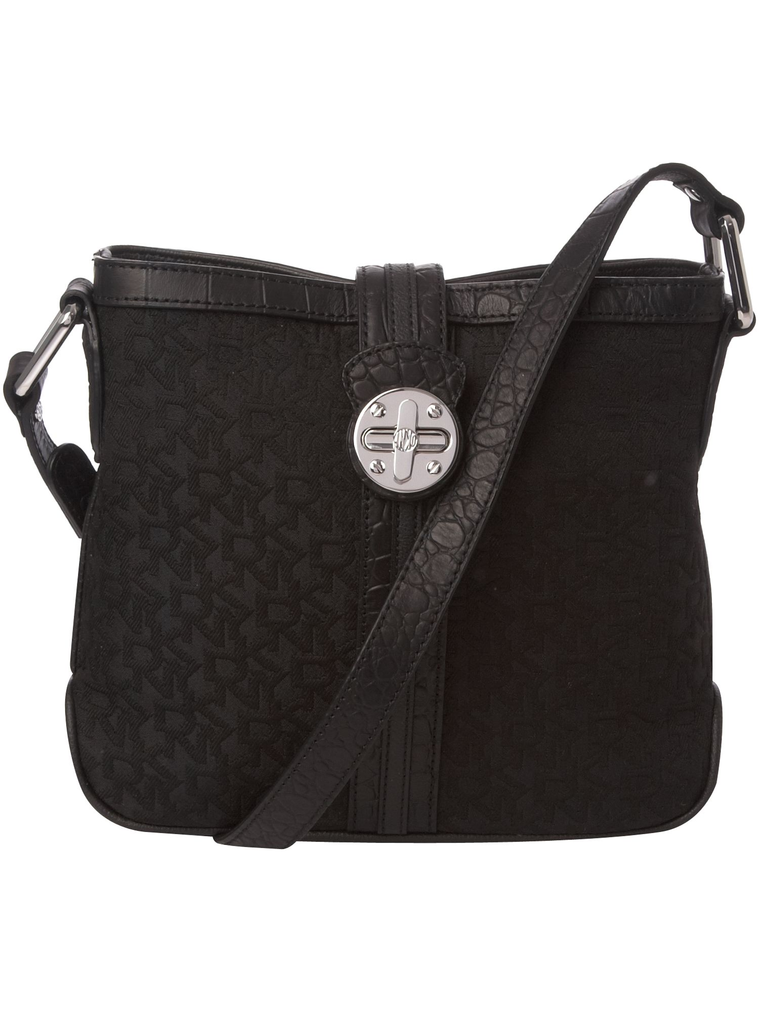 DKNY Turnlock Town and Country nylon cross body product image