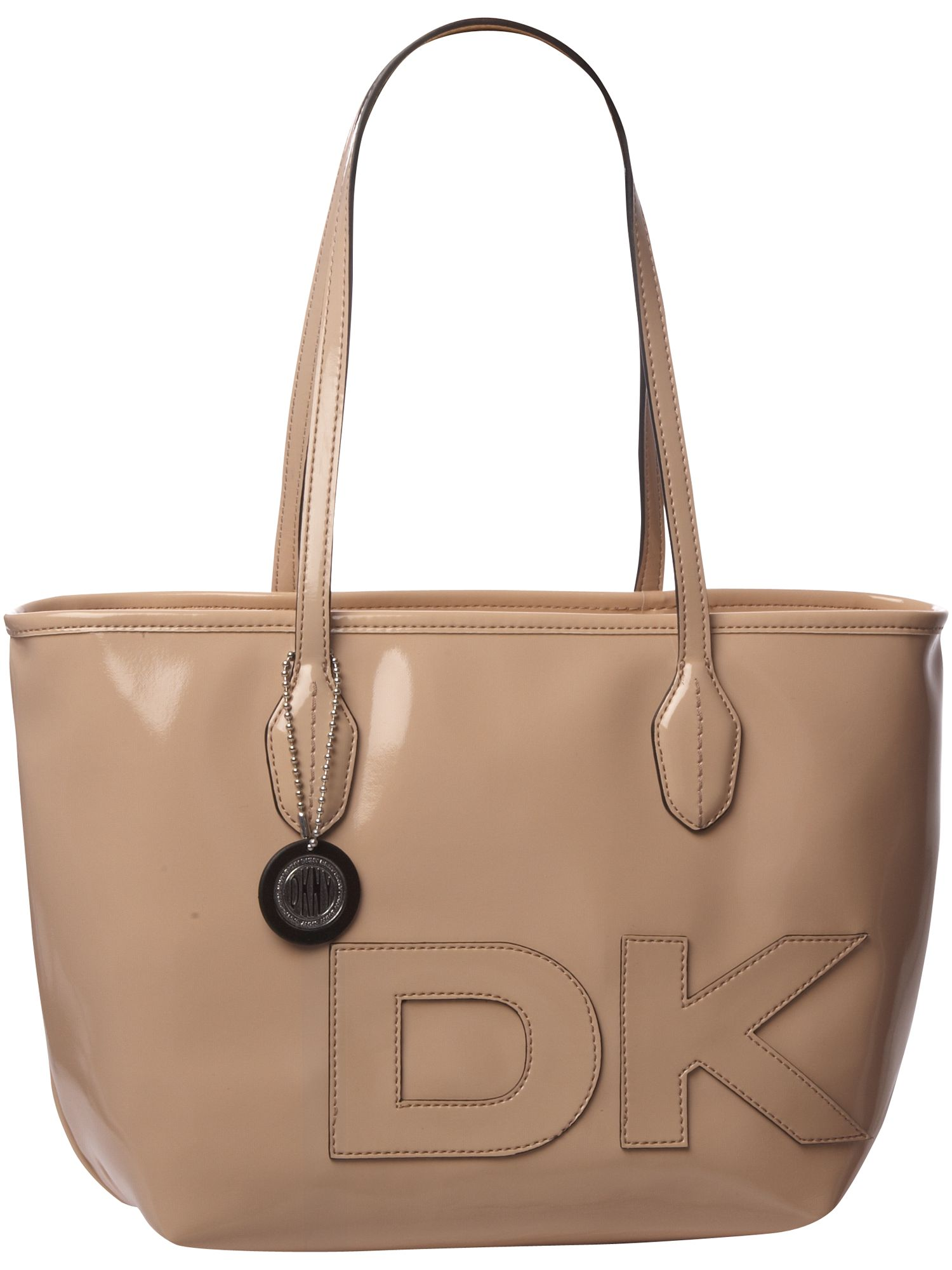 DKNY Active Patent with logo large PU tote bag product image