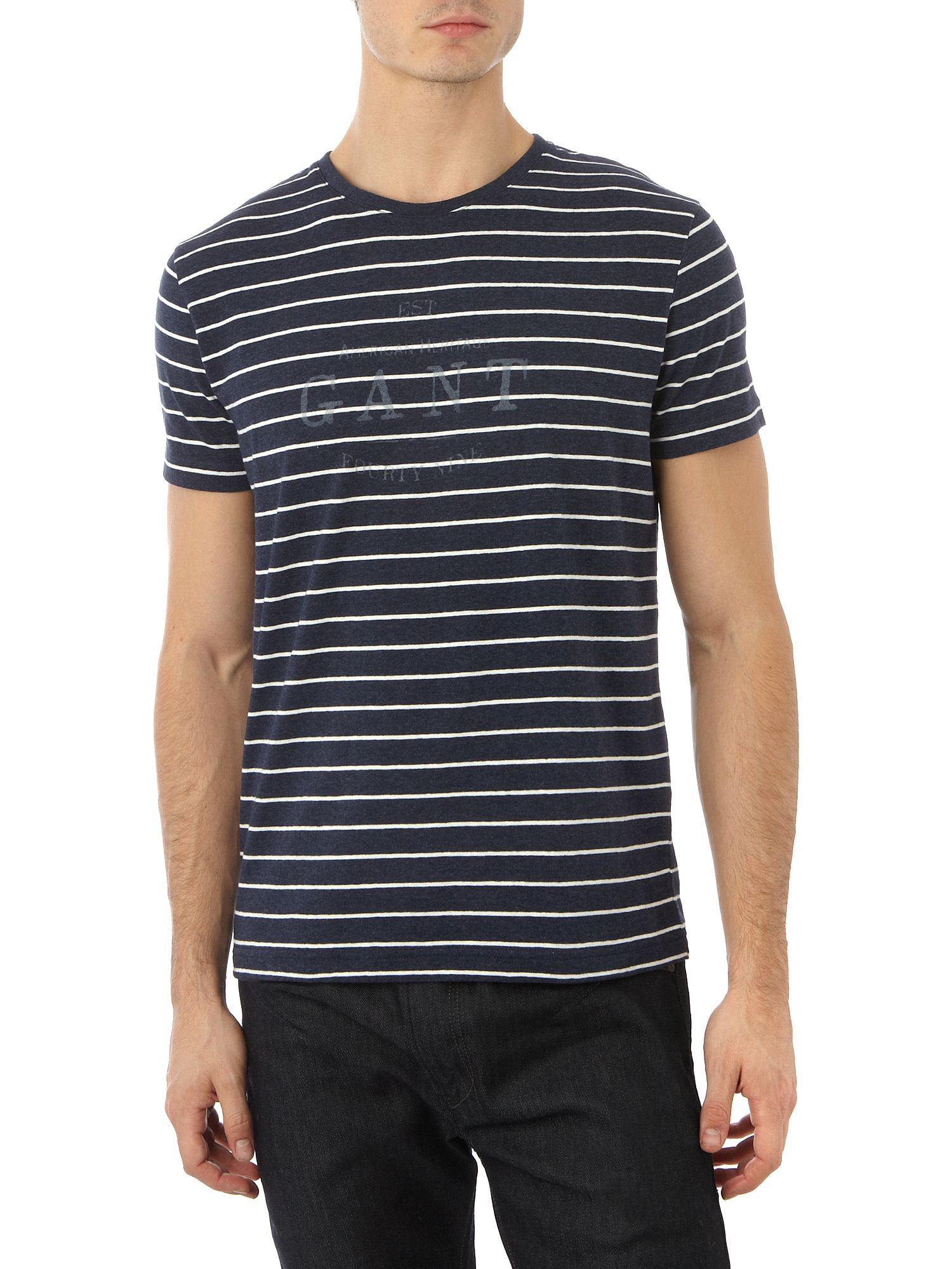 Gant Short-sleeved T-shirt Indigo product image