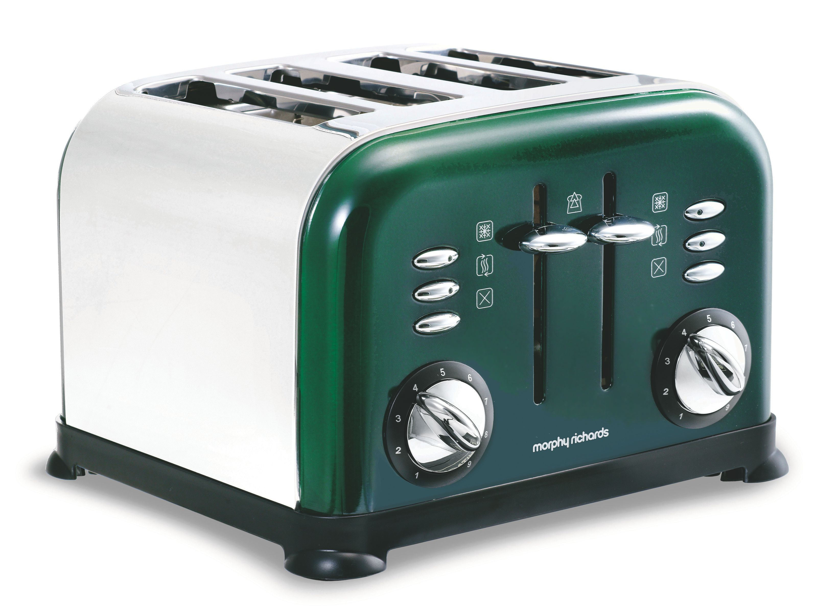 Morphy Richards 44731 green accents 4 slice toaster