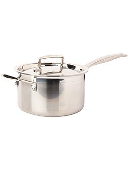 3-Ply Stainless Steel 18cm Saucepan