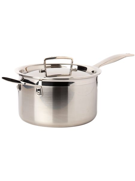 Le Creuset 3-Ply Stainless Steel 20cm Saucepan