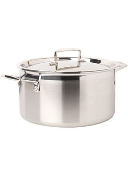 3-Ply Stainless Steel 24cm Deep Casserole