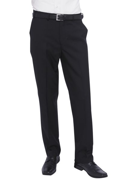 Titan flat front trousers