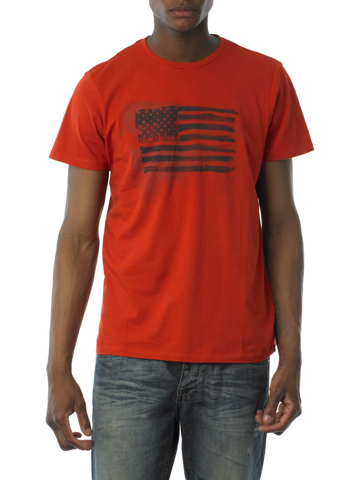 Polo Jeans Kole basic print T-shirt Orange product image