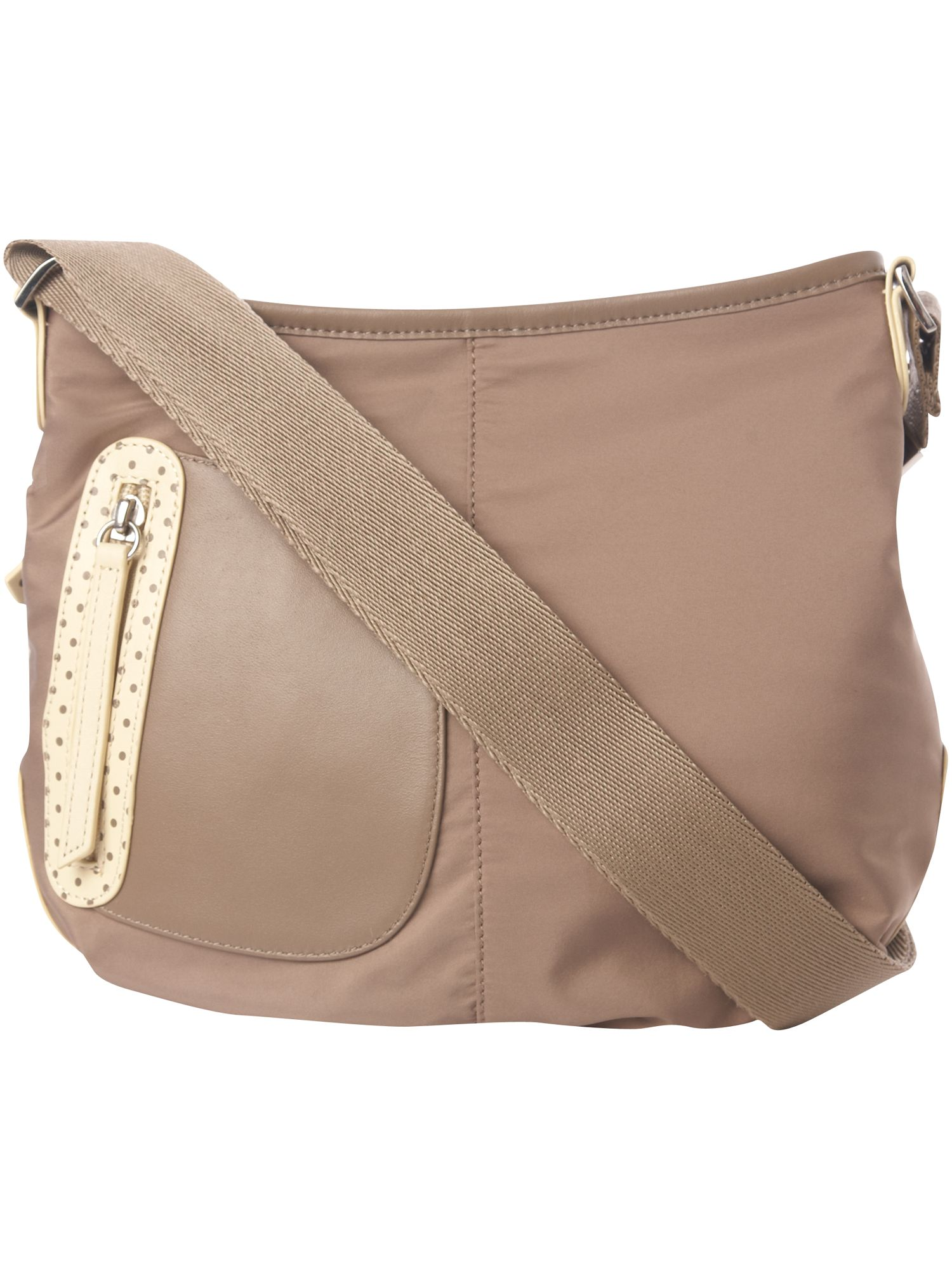 Pursuit nylon small cross body bag