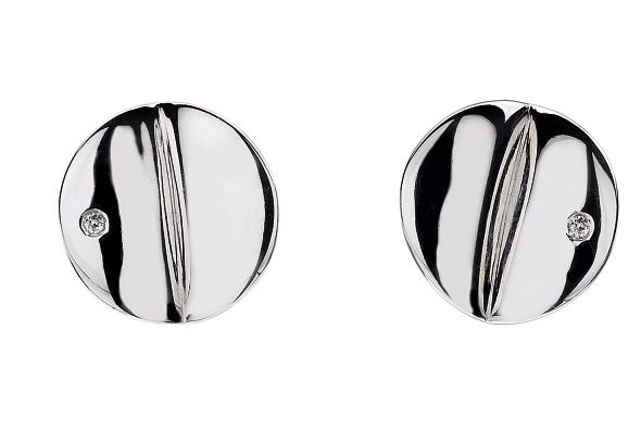 Hot Diamonds Echo disc stud earrings product image