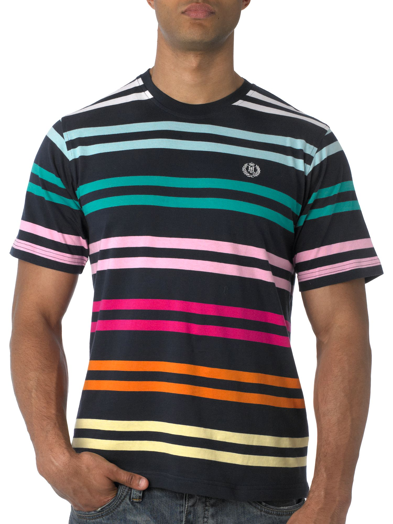 Henri Lloyd Short sleeve multistripe t-shirt Navy product image