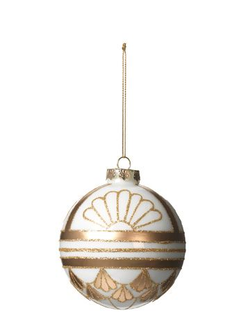 Antique gold bauble
