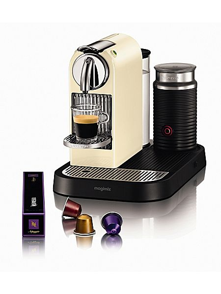 magimix m190 cream citiz milk nespresso coffee machine. Black Bedroom Furniture Sets. Home Design Ideas