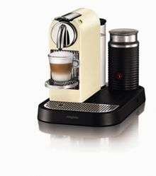 M190 Cream Citiz & Milk Nespresso Coffee Machine