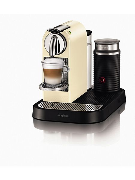 m190 cream citiz milk nespresso coffee machine. Black Bedroom Furniture Sets. Home Design Ideas