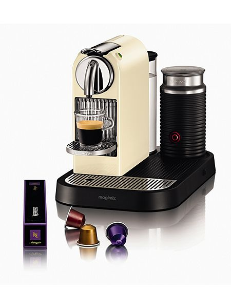 magimix m190 cream citiz milk nespresso coffee machine house of fraser. Black Bedroom Furniture Sets. Home Design Ideas
