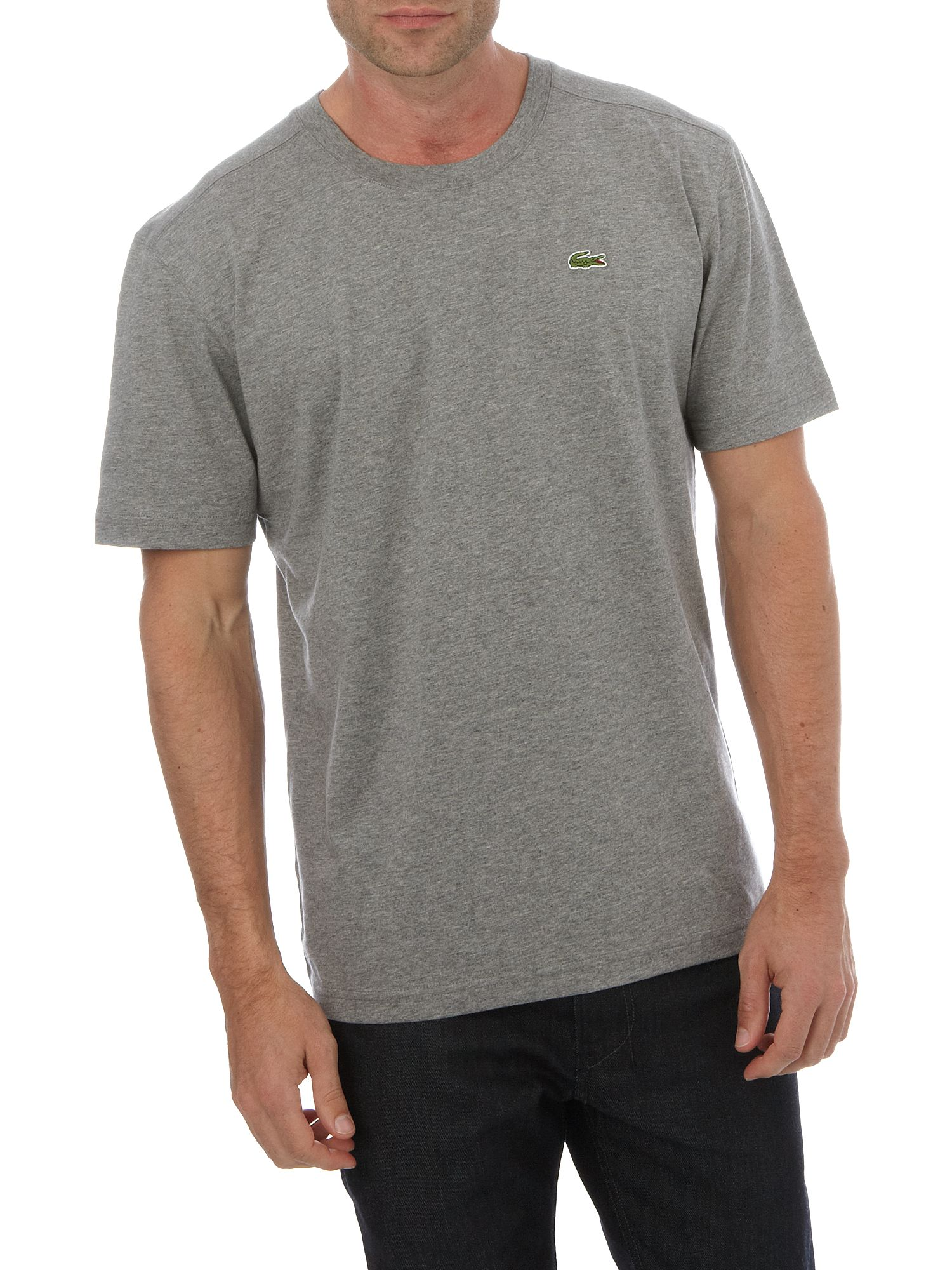Lacoste Short sleeve basic T-shirt Grey product image
