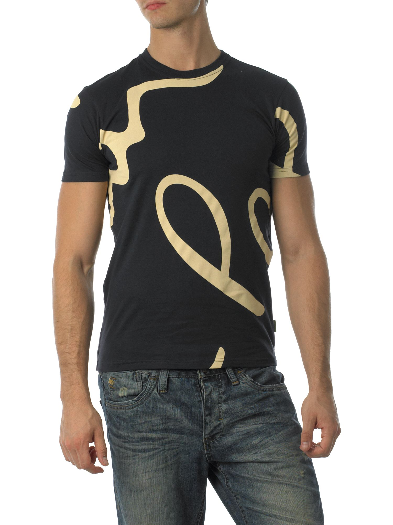 Paul Smith Jeans Signature swirl t-shirt Navy product image