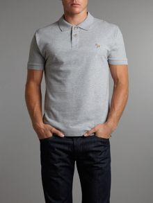 Paul Smith Jeans Regular zebra polo shirt
