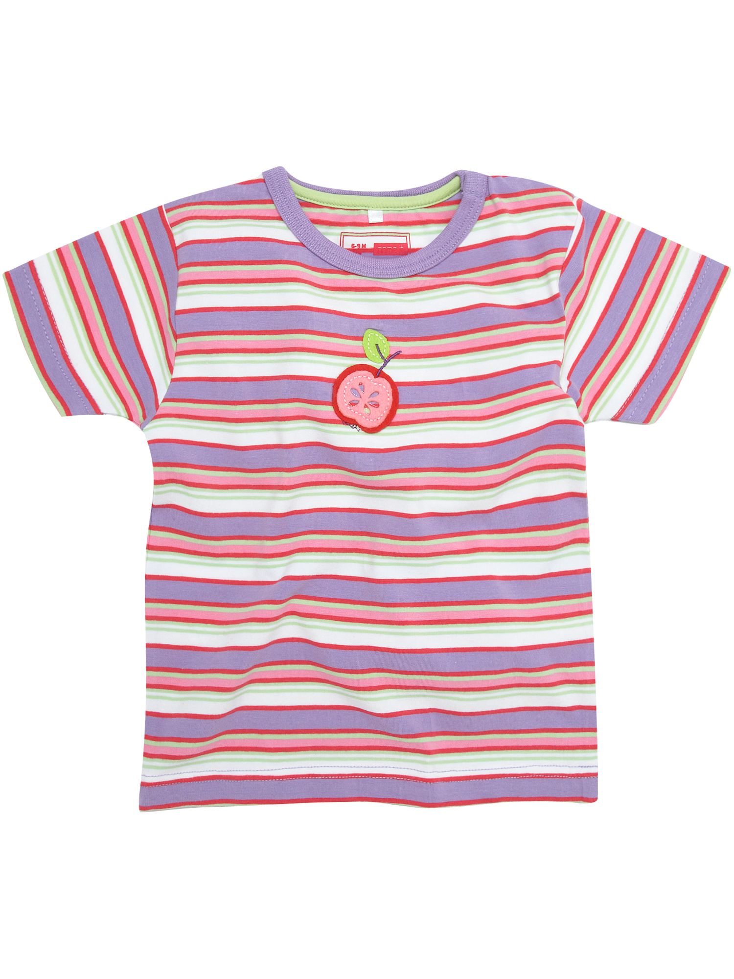 Name It Short-sleeved striped with applique T-shirt product image