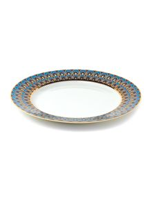 Peacock side plate