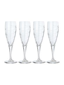 Sierra flutes, set of 4