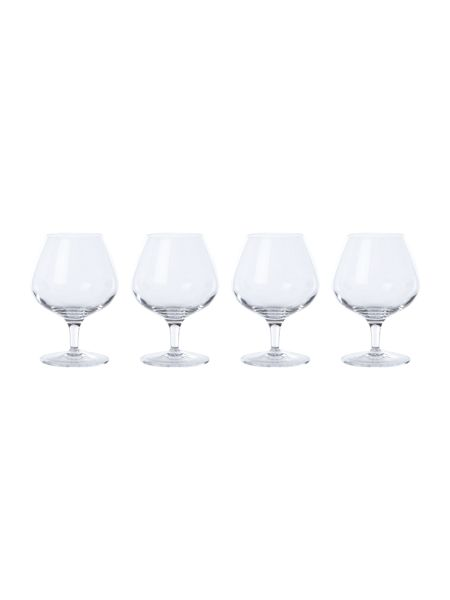 Linea Sierra brandy glasses, set of 4