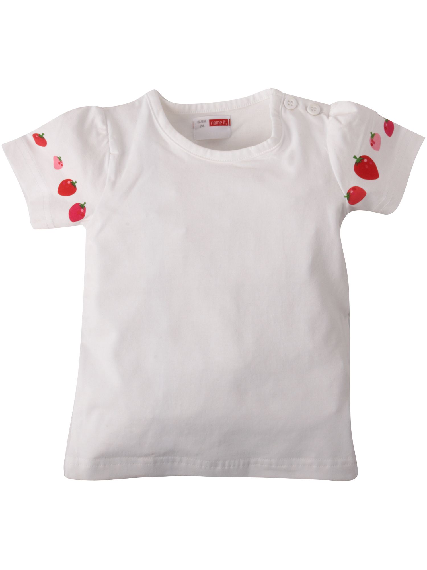 Name It Short-sleeved strawberry detail T-shirt product image