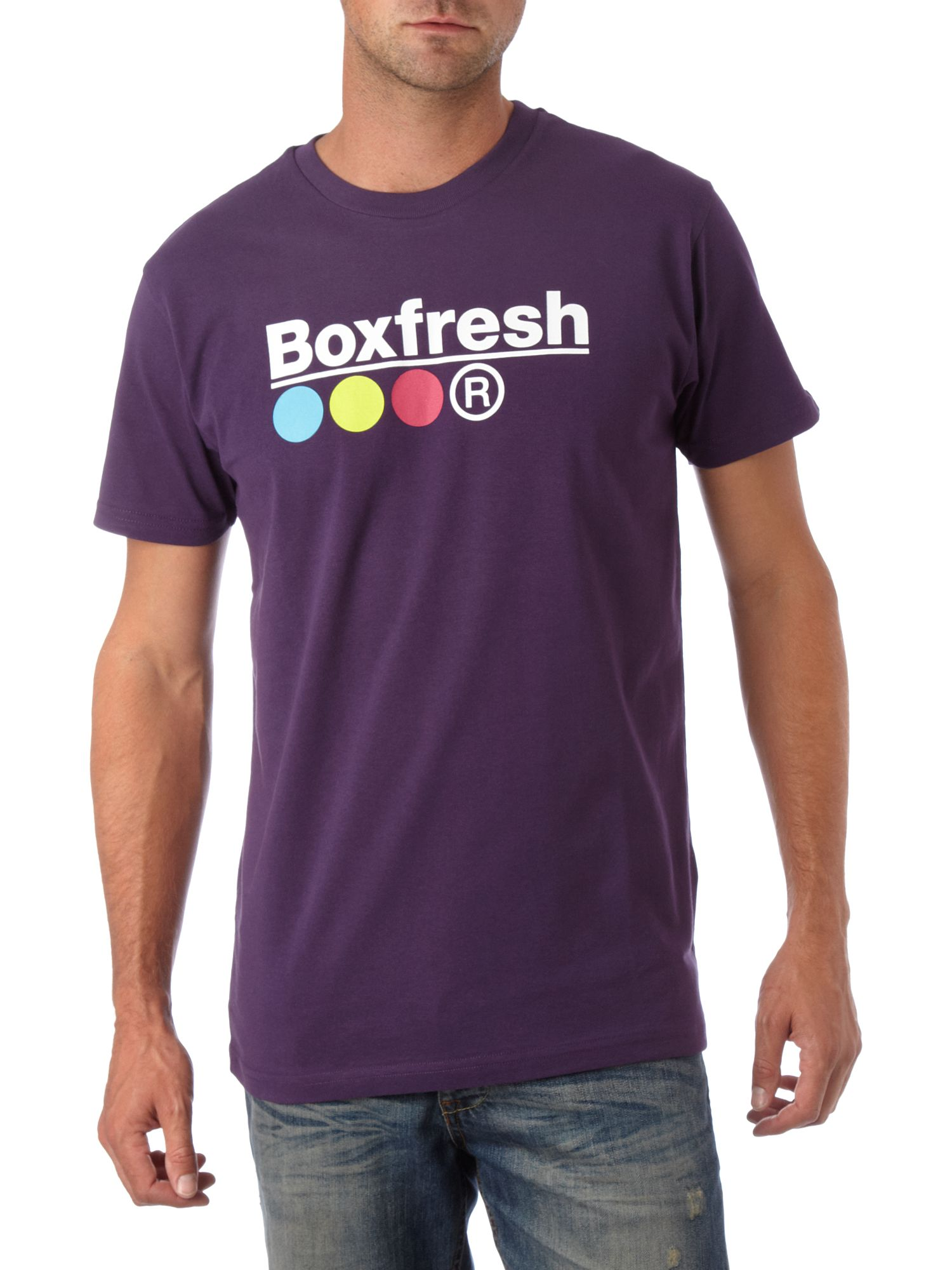 Signature classic T-shirt Purple