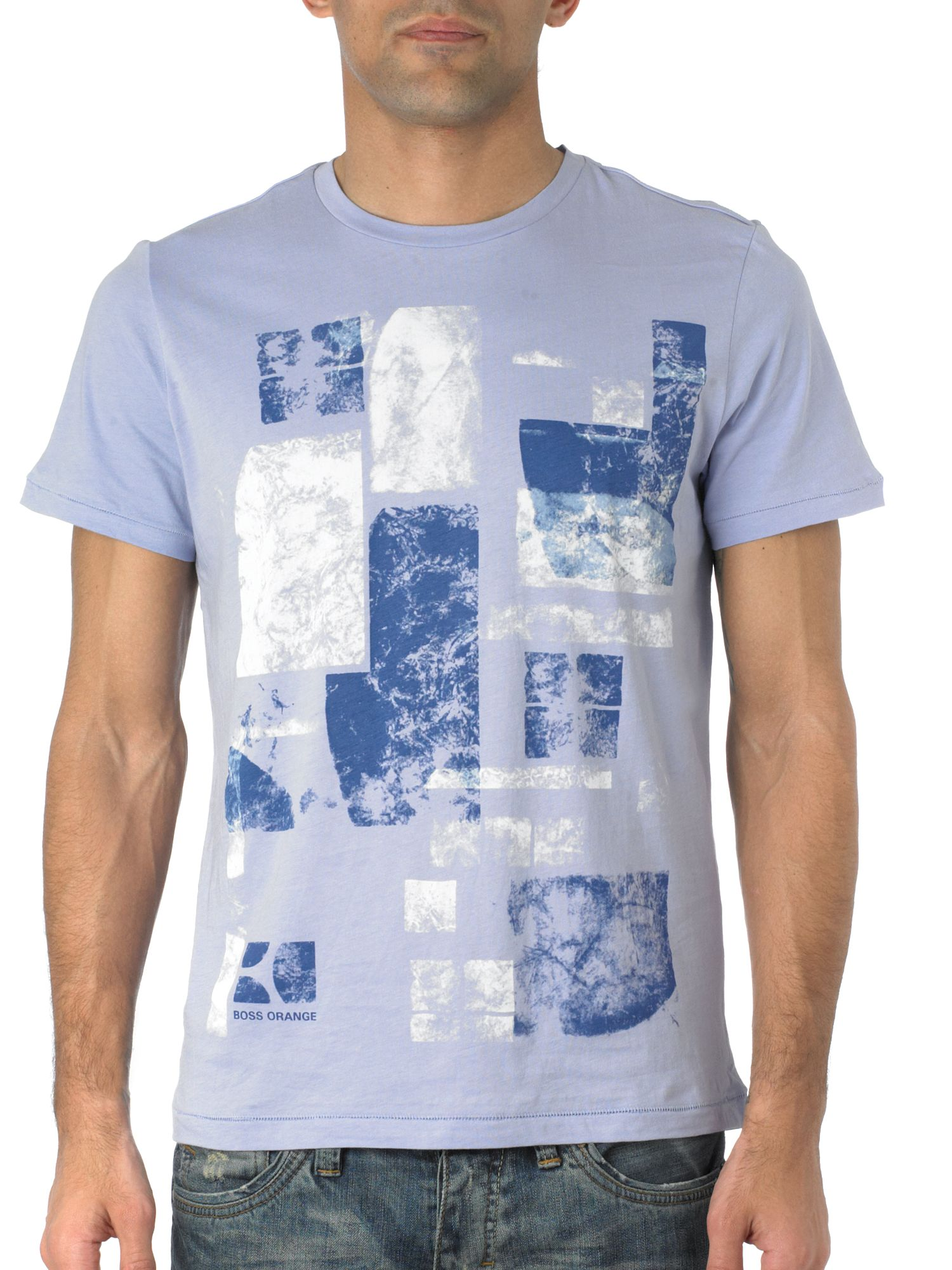 Hugo Boss Abstract logo t-shirt Lilac product image