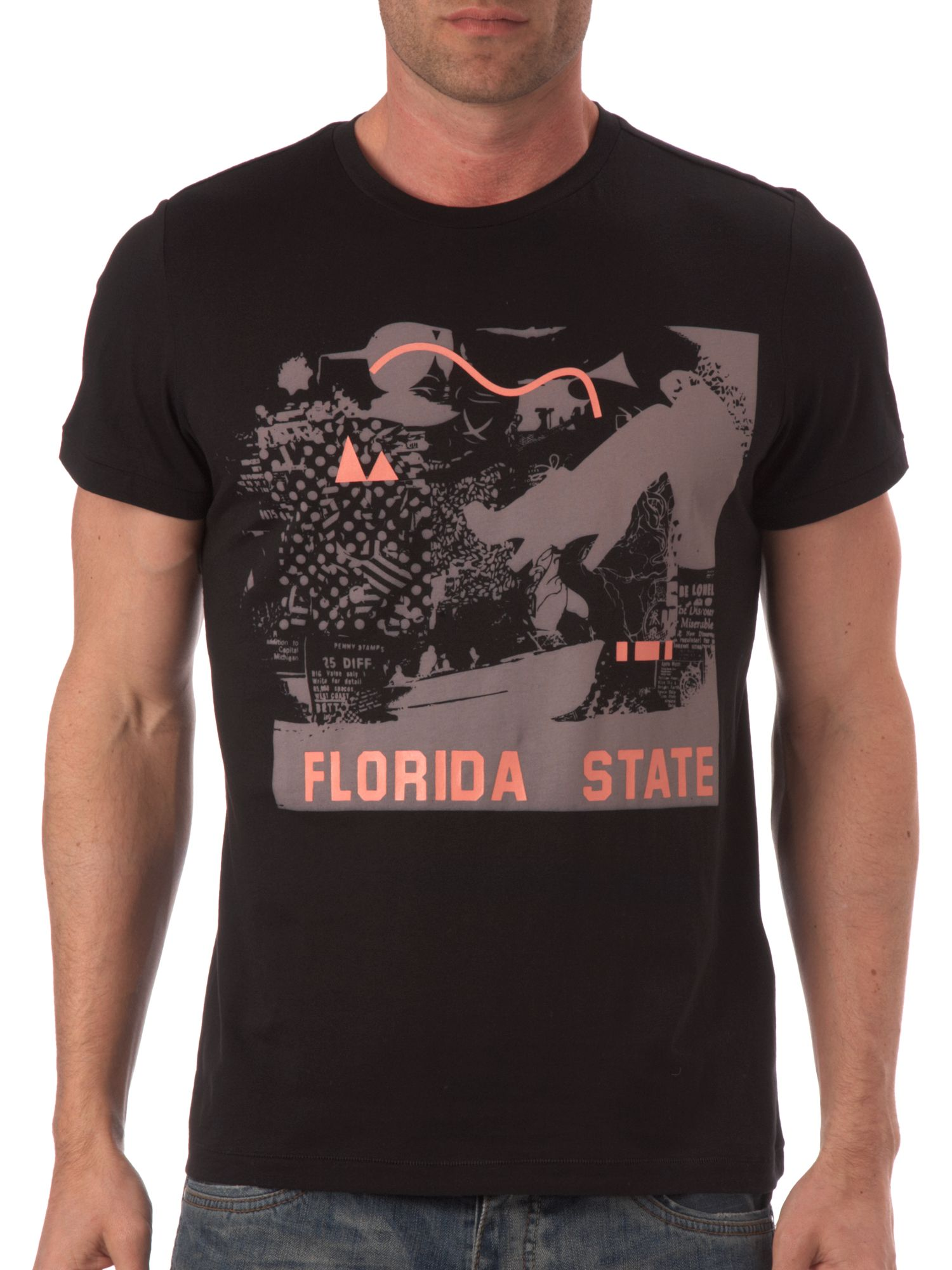 Hugo Boss Florida print t-shirt product image