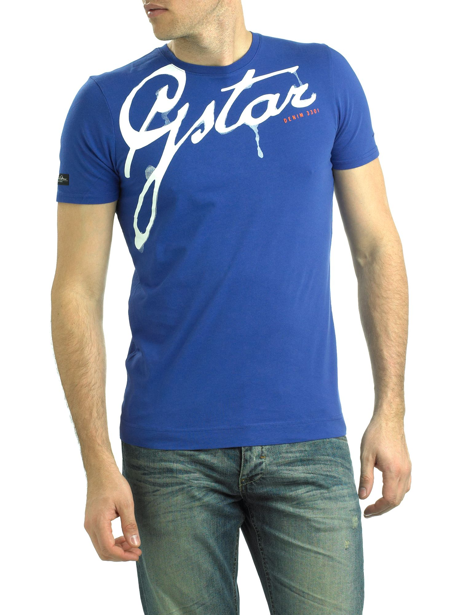 G-Star Short-sleeved crew neck G-star T-shirt product image